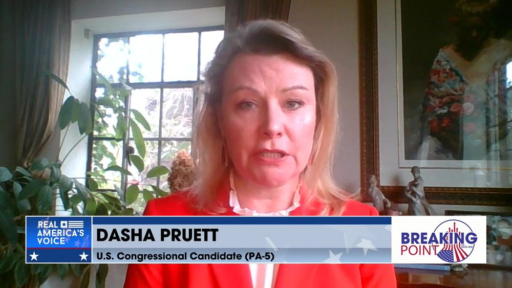 David Zere Is Joined By U.S. Congressional Candidate Dasha Pruett