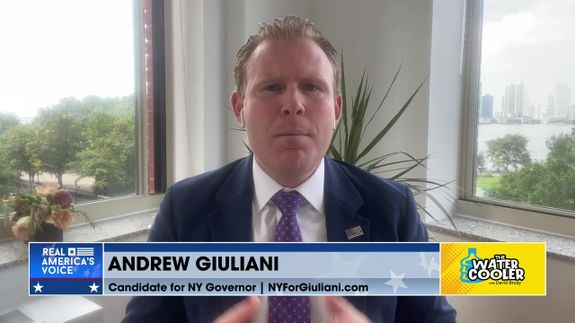 Andrew Giuliani talks about getting banned from Fox