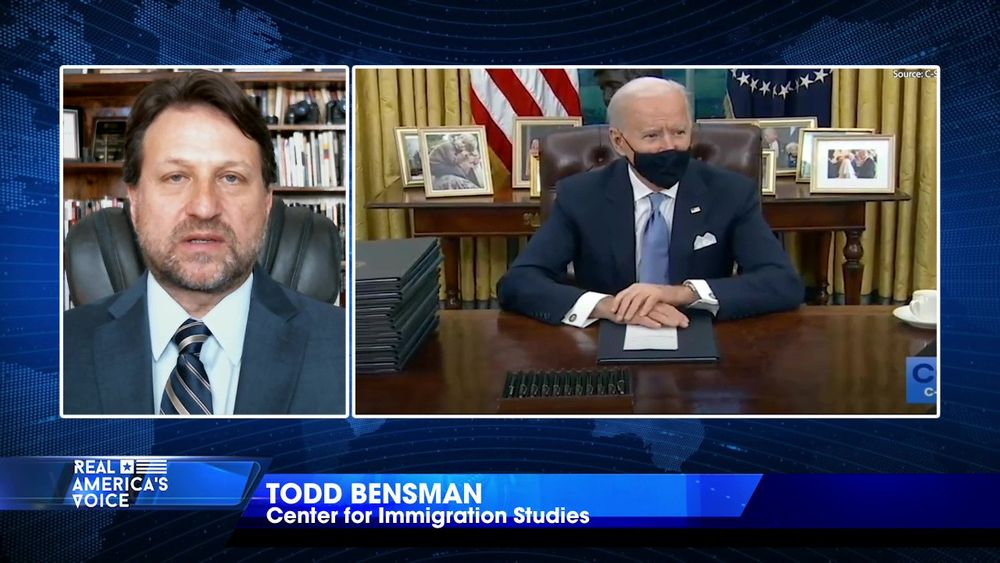 Todd Bensman and President Joe Biden's recent executive orders on immigration