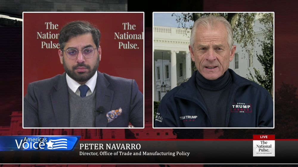 Peter Navarro talks with Raheem about what's next & repercussions of the last election on the future