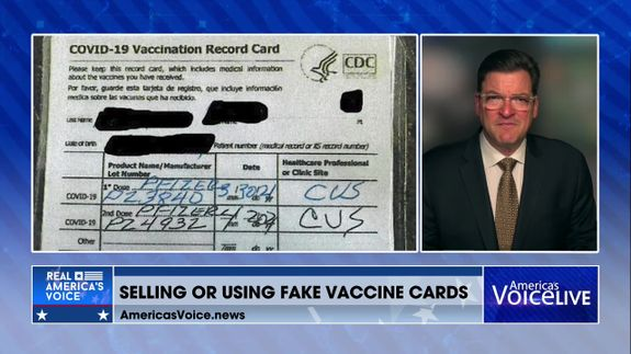 The Consequences of Selling Fake Vaccine Cards