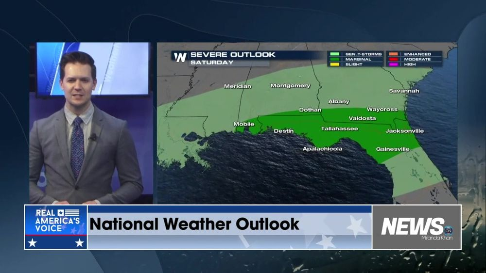 WeatherNation Gives You Your National Weather Outlook