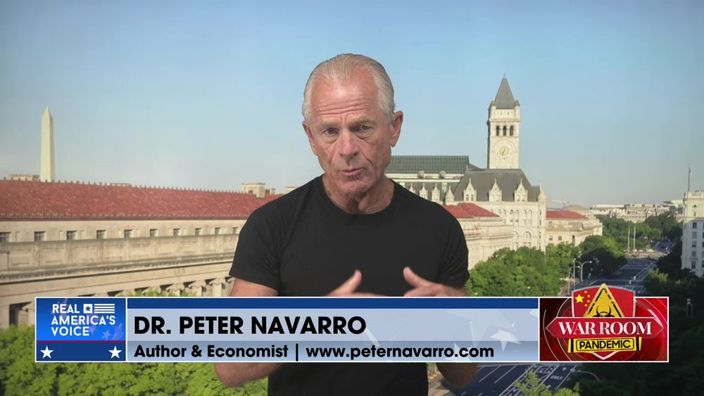 Peter Navarro Talks About Gain of Function Research