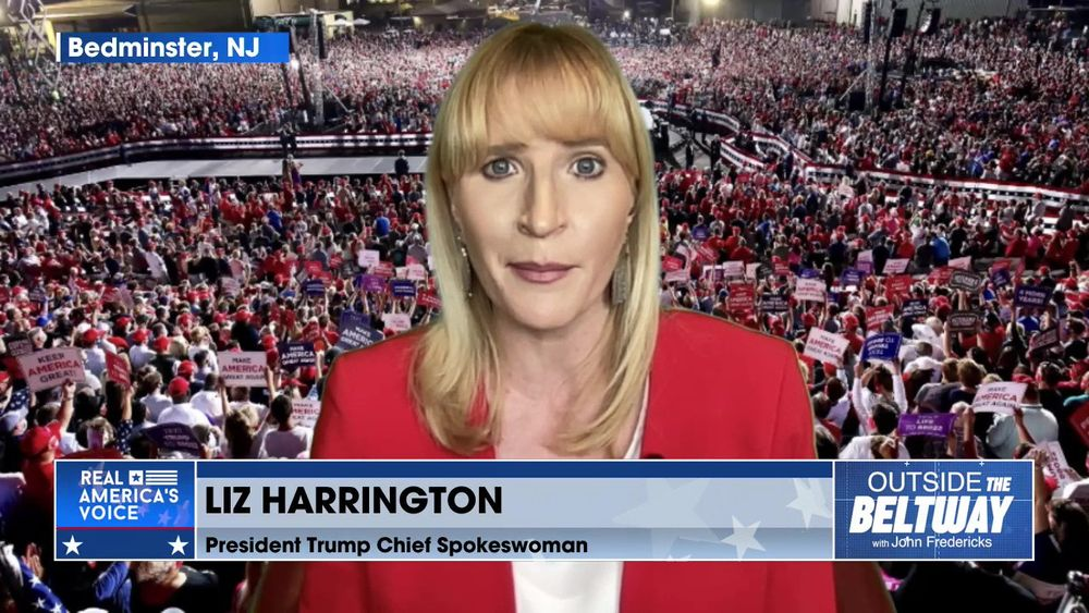 John Fredericks is Joined By President Trump's Spokeswoman, Liz Harrington