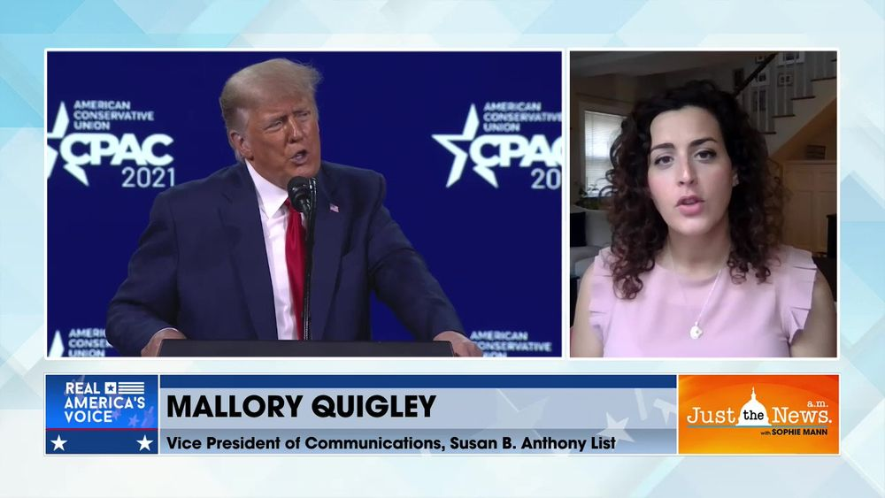 Mallory Quigley, VP of Comms, Susan B Anthony List - GOP Govs sign pro-life laws early in Biden term