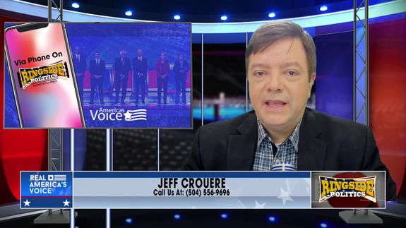 Jeff speaks to callers on the phone February 23 2021