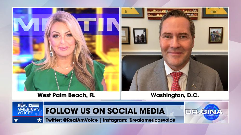 Rep Michael Waltz Joins Dr. Gina Prime Time