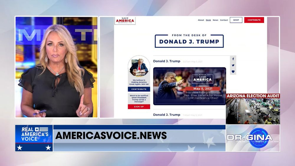 Former President Trump Launches New Communications Platform