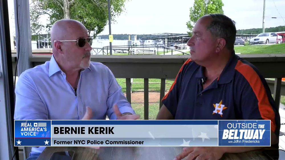 John Fredericks is Joined By Former NYC Police Commissioner, Bernie Kerik