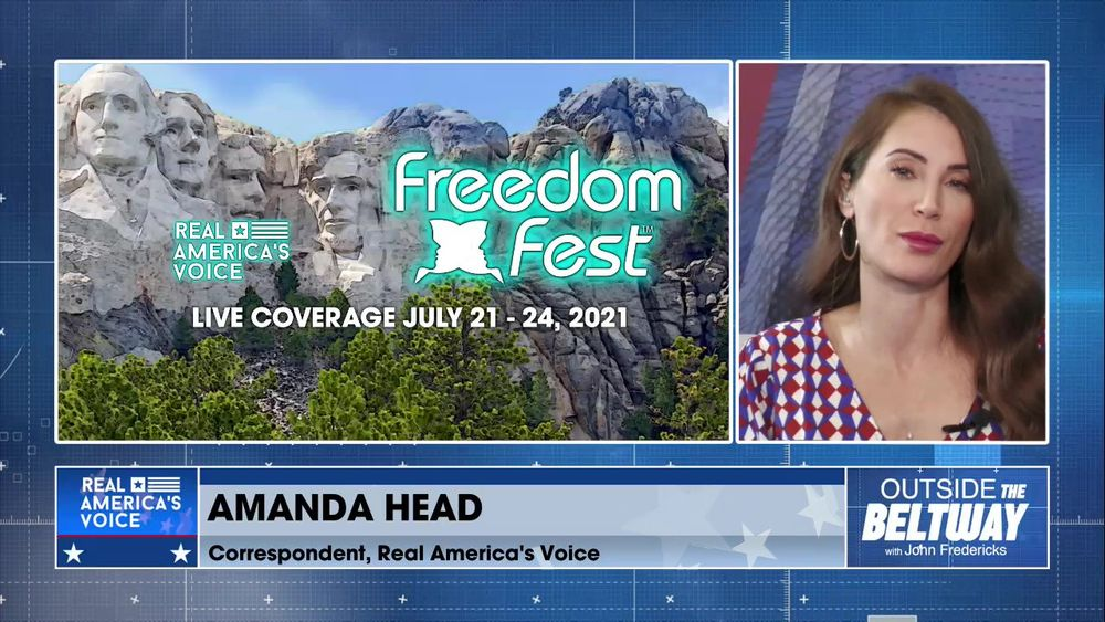 John Fredericks is Joined By Real America's Voice Correspondent, Amanda Head