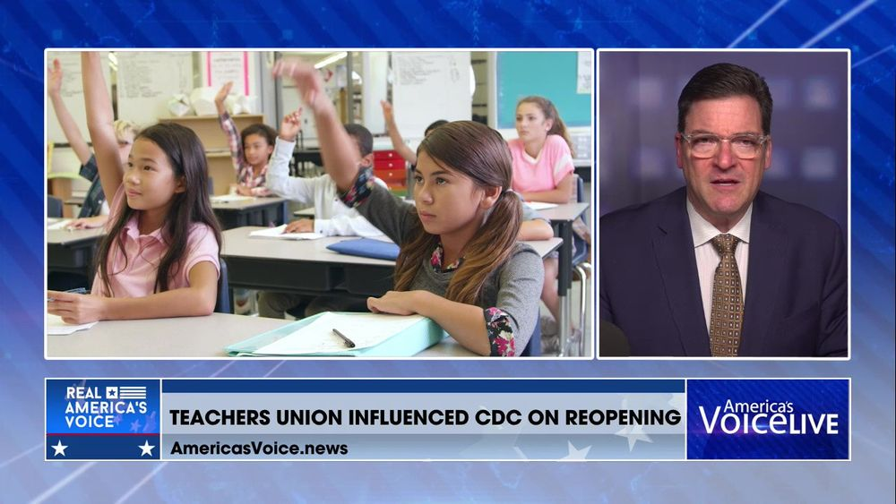 Emails Show Powerful Teachers Union Might Have Influenced CDC On School Re-openings