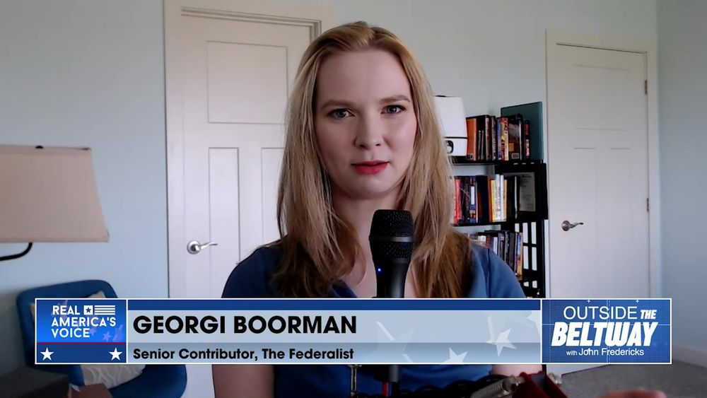 Georgi Boorman Senior Contributor for The Federalist Joins to Talk About Dr. Fauci