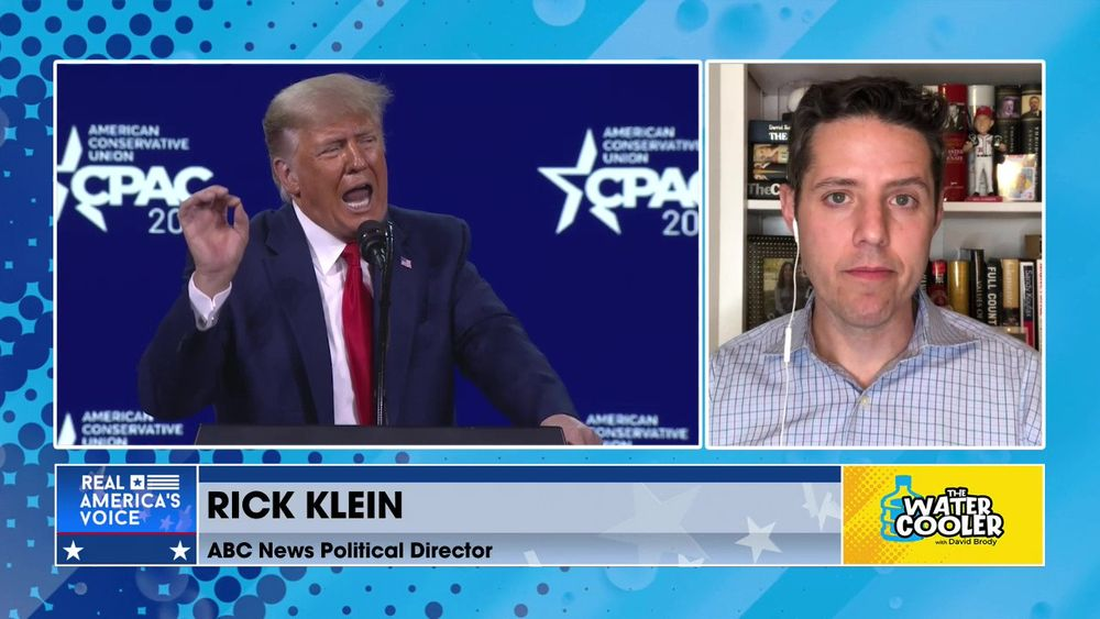 "Rick Klein - News Director, ABC - Trump draws ""Big Lie"" line in sand, creates GOP problem for 2022"
