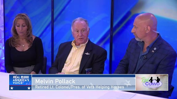 Melvin Pollack Discusses Vets Helping Heroes