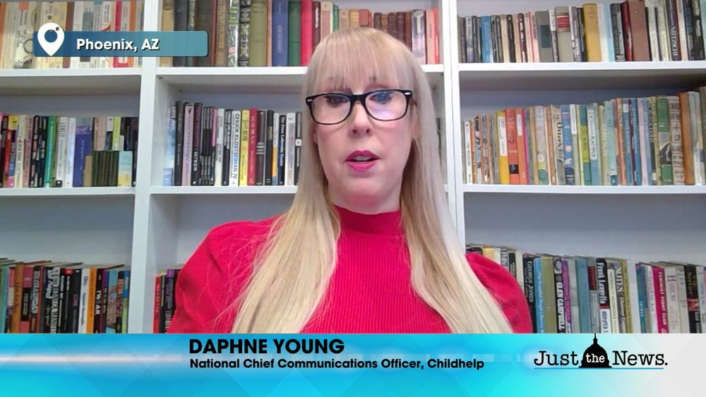 Daphne Young, Chief Communications Officer, Childhelp - Child Abuse unreported because of lockdowns