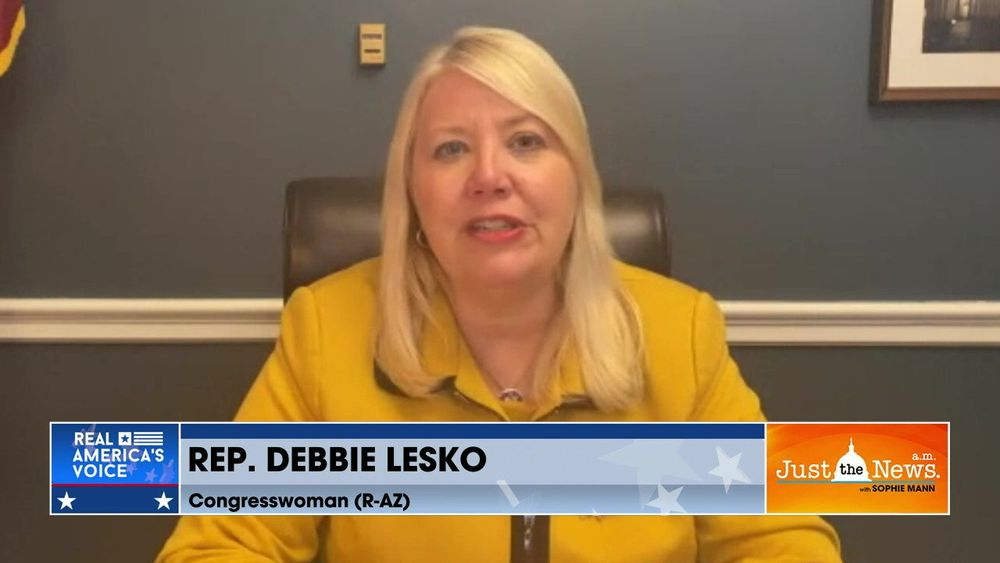 "Rep. Debbie Lesko (R-AZ) - Biden Administration should be culpable for ""child abuse"""
