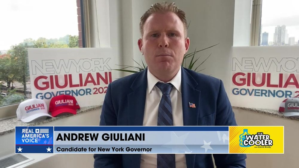 """Andrew Giuliani stands up for """"domestic terrorists"""""""
