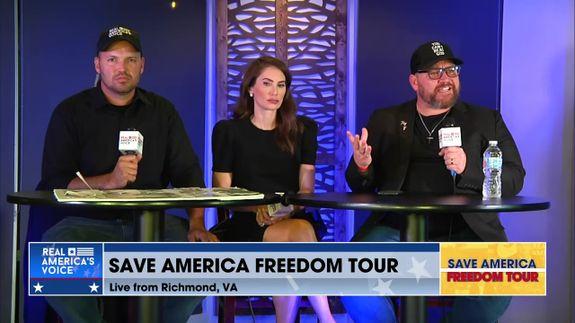 Save America Bus Tour: Richmond, VA Part 2