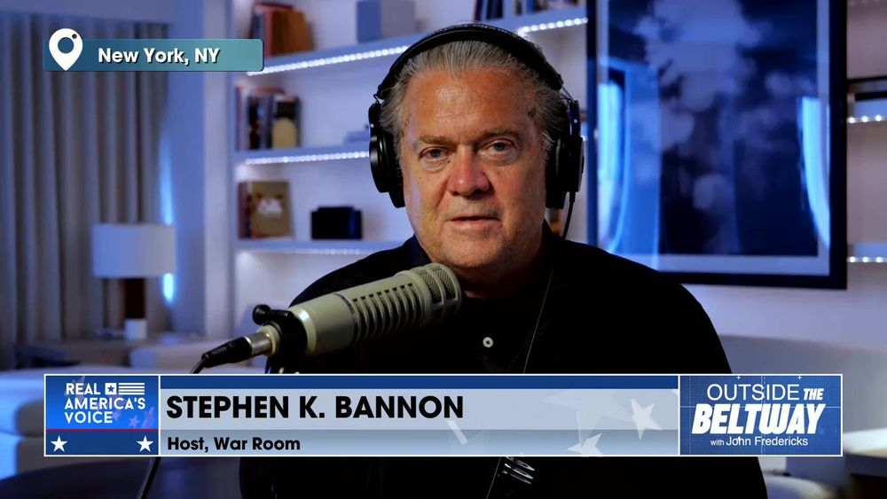 Stephen K. Bannon, Host of War Room Joins John Fredericks to Discuss Saturday's Convention in GA and NC