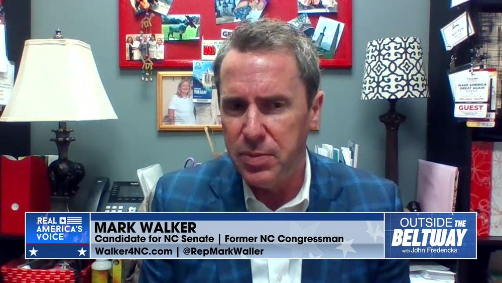 Mark Walker Candidate for NC Senate Talks About His Run for Senate