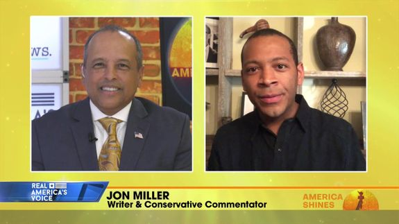 Aubrey Shines is Joined by Writer & Conservative Commentator, Jon Miller