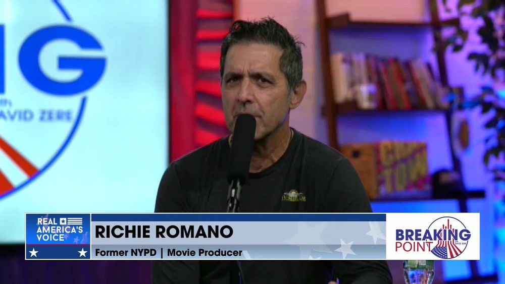 David Zere Is Joined By Movie Producer & Former NYPD Officer, Richie Romano