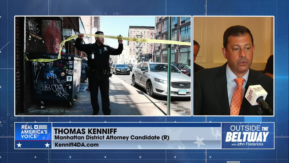 Thomas Kenniff; Candidate NYC District Attorney Brings the Heat