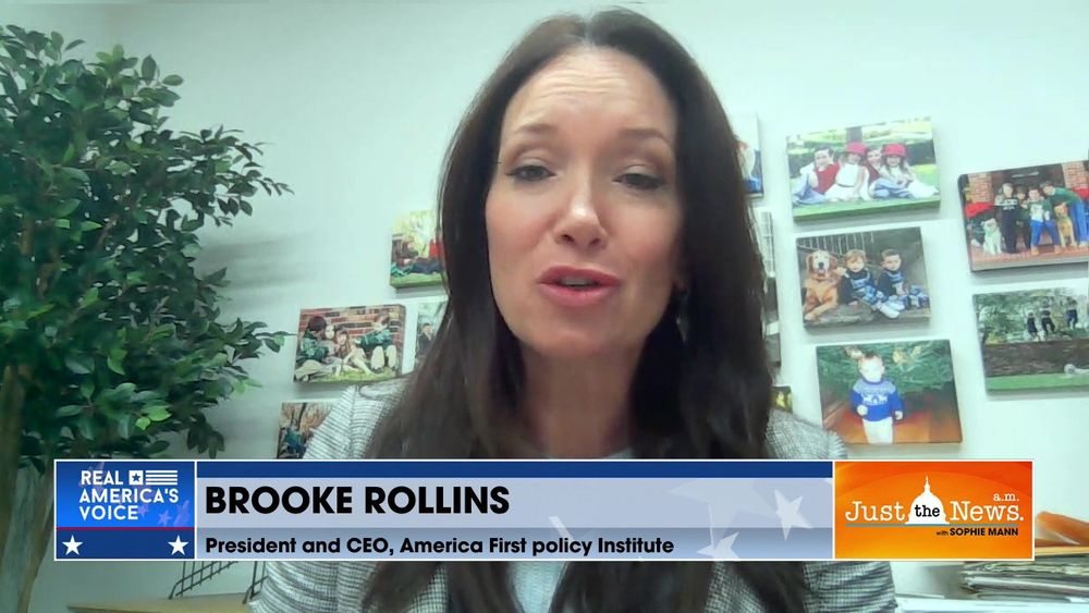 Brooke Rollins, America First Policy Institute - Highlighting triumphs of Trump administration