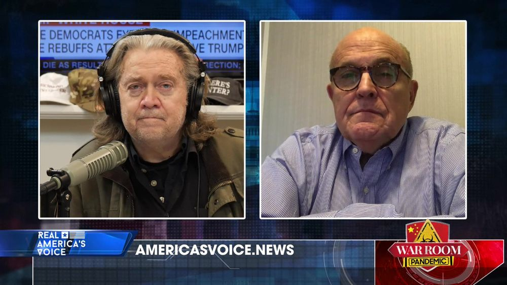 War Room Pandemic with Stephen K Bannon Episode 640 Part 1