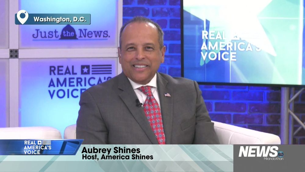 Welcoming Aubrey Shines Host Of America Shines To The Real America's Voice Team