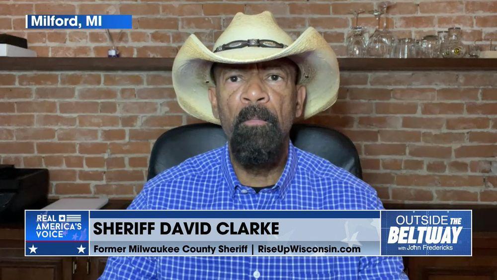 John Fredericks is Joined By Former Milwaukee County Sheriff, David Clarke