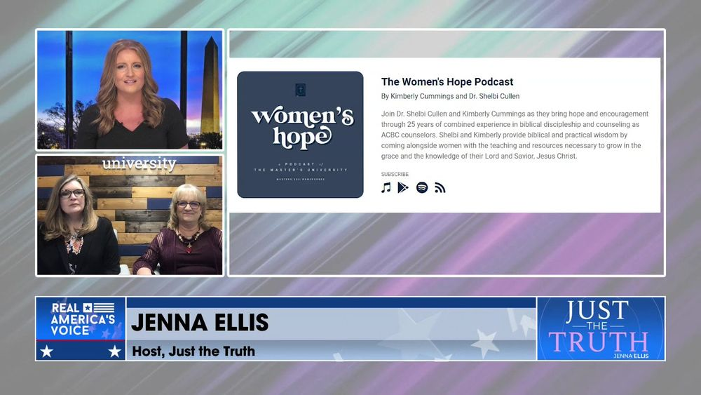 Jenna Is Joined By Co-Hosts Of Women's Hope Podcast, Kimberly Cumming & Dr. Shelbi Cullen Pt 1