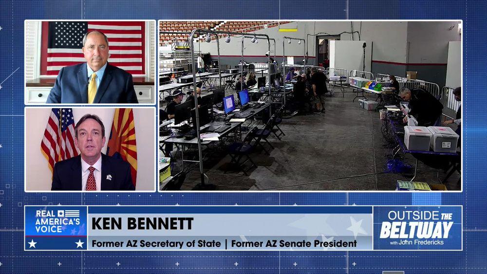 Ken Bennett Former AZ Secretary of State Joins to Update Us on The Arizona Audit