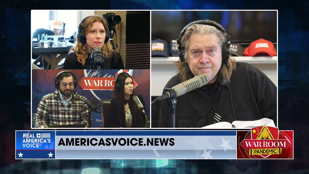 War Room Pandemic with Stephen K Bannon Episode 776 Part 2