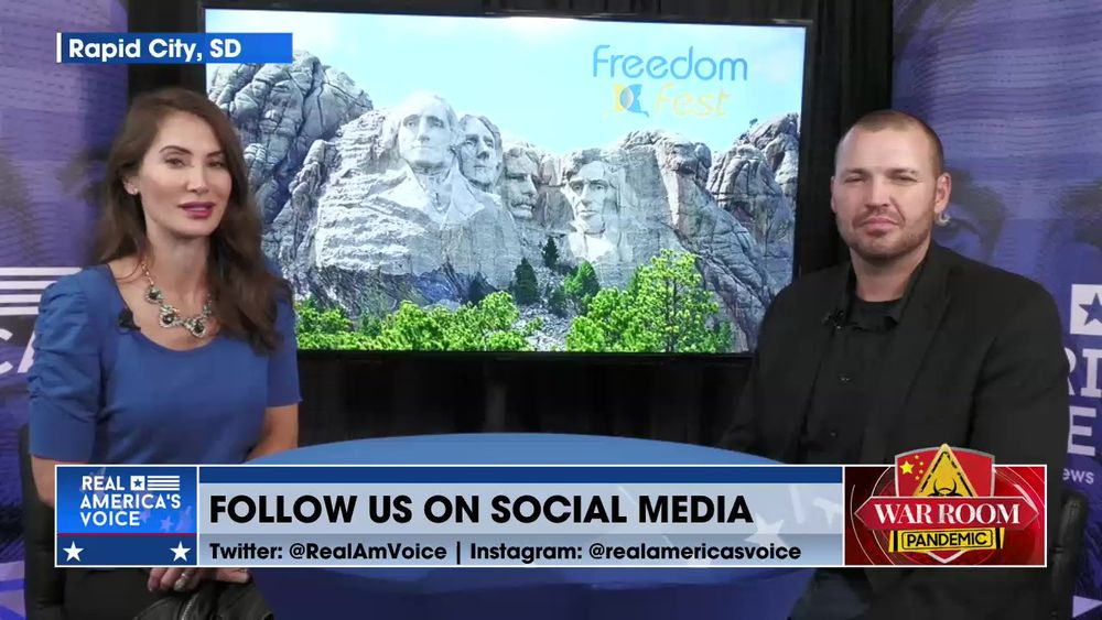 Ben Bergquam and Amanda Head have an Update Live from Freedom Fest in Rapid City, South Dakota
