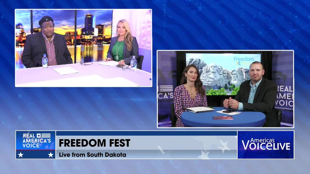 Amanda and Ben Have a Final Update Live from Freedom Fest in Rapid City South Dakota