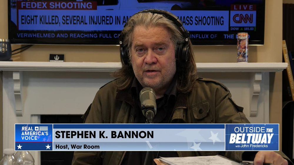 Outside The Beltway With Stephen K. Bannon Part 1