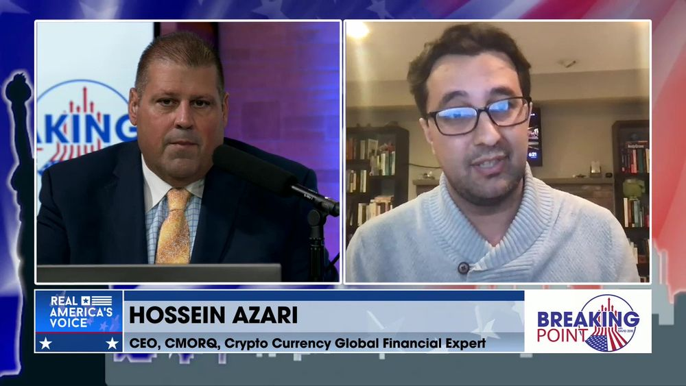 David Zere Is Joined By Crypto Currency Global Financial Expert, Hossein Azari