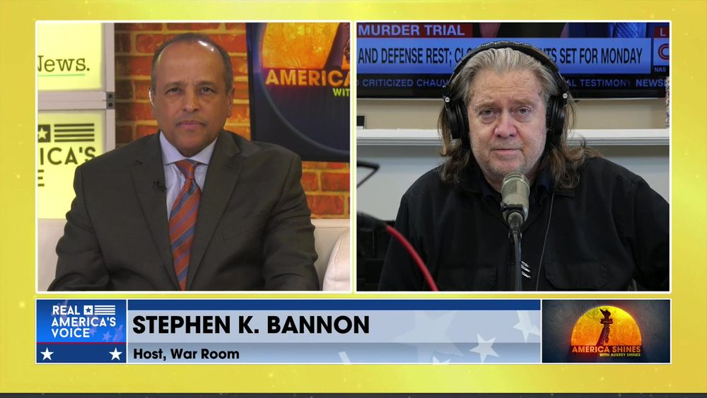 Aubrey Shines Is Joined By The Host Of War Room, Stephen K. Bannon