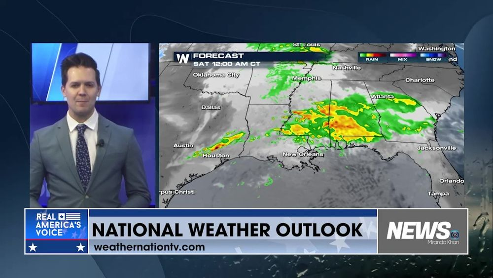 Rob Bradley Brings You Your National Weather Outlook