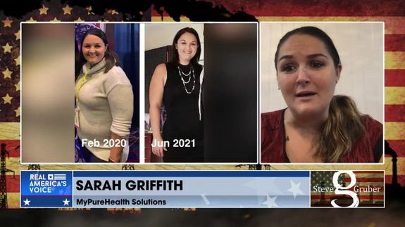Steve Gruber Is Joined By SARAH GRIFFITH , OCTOBER 13 2021