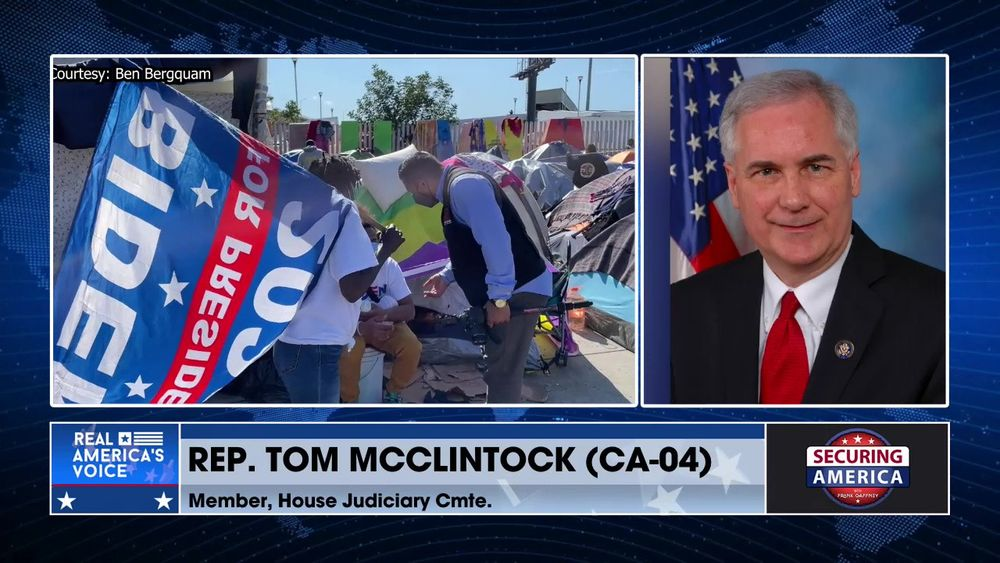 Secure Freedom Radio Exclusive with Rep. Tom McClintock (CA-04), Member, House Judiciary Cmte.