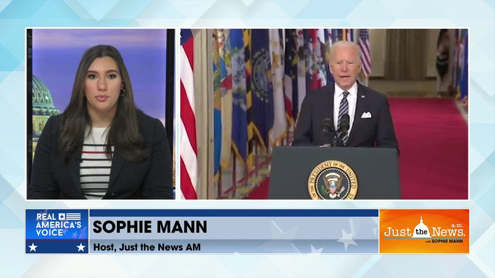 Just the News Headlines - Biden to hold 1st Press Conference, Newsom worried about recall