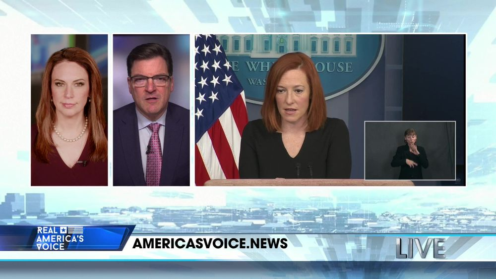 Jen Psaki Holds A Press Briefing at The White House