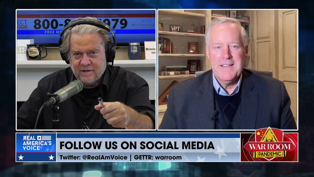Mark Meadows Joins Steve to Discuss a Possible Upcoming Recession
