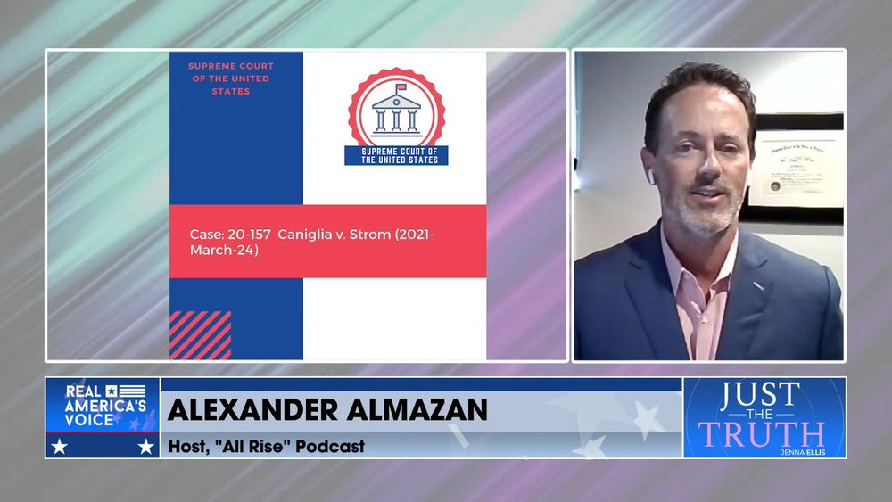 """Jenna Is Joined By Host Of """"All Rise"""" Podcast,  Alexander Almazan To Discuss Caniglia v. Strom"""