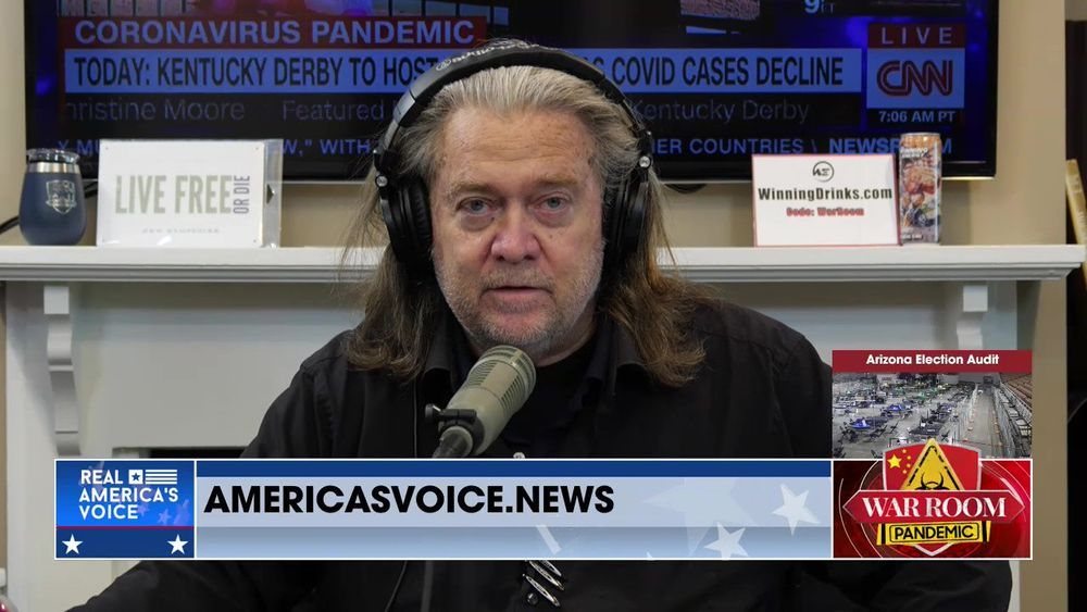 War Room Pandemic with Stephen K Bannon Episode 915 Part 1