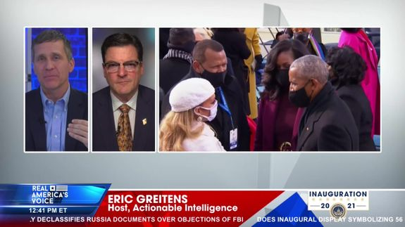 Host, Eric Greitens Provides Coverage of The 46th Presidential Inauguration