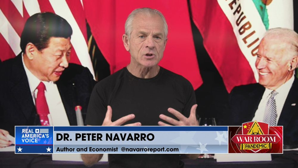 Peter Navarro Joins War Room to Discuss Texas Gov Abbott's Connection to China