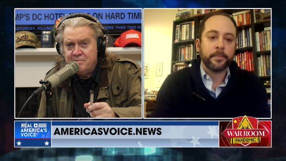 War Room Pandemic with Stephen K Bannon Episode 749 Part 4